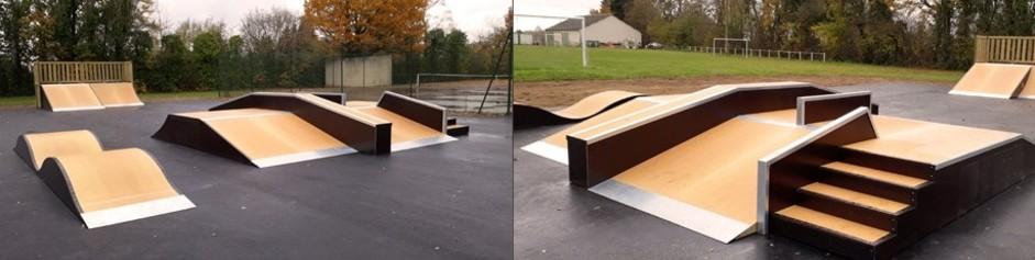 Aménagement d'un lieu extérieur pour les jeunes : Skate-Park et Street Workout.